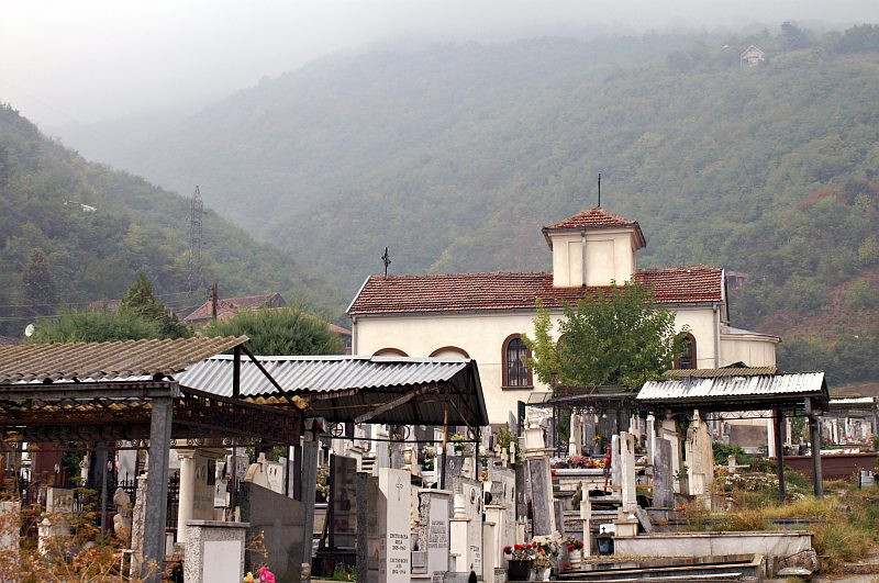 Cemetery in Tetovo