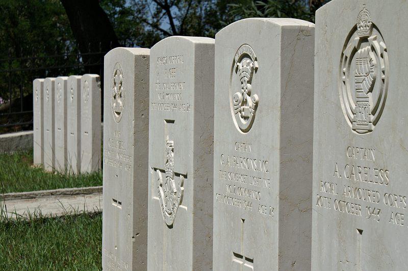 Tirana - British Memorial Cemetery
