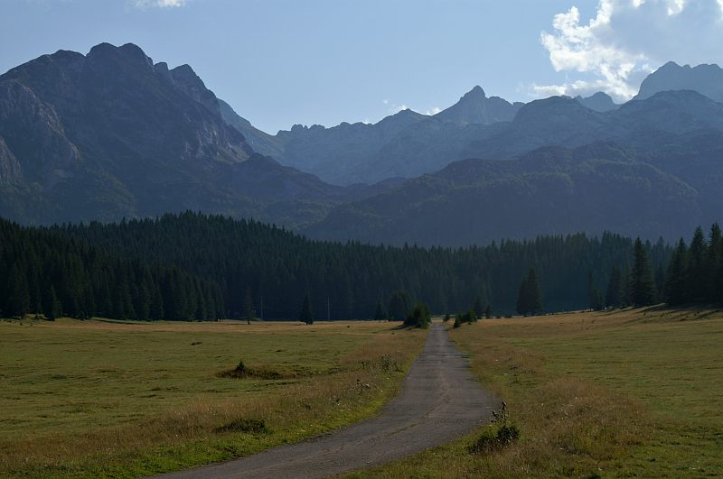 The Durmitor Massif from Poljana