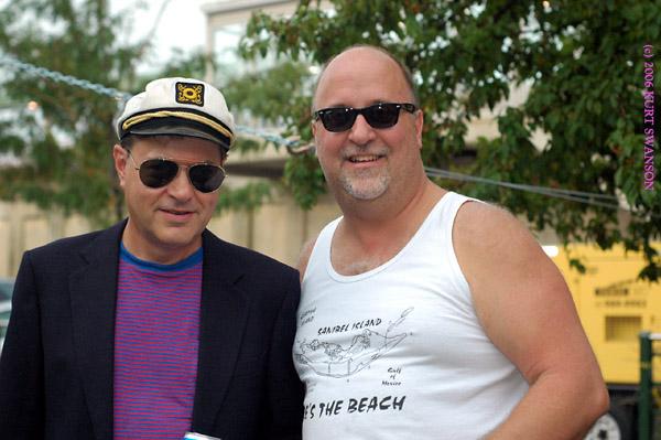 With Rob Harding