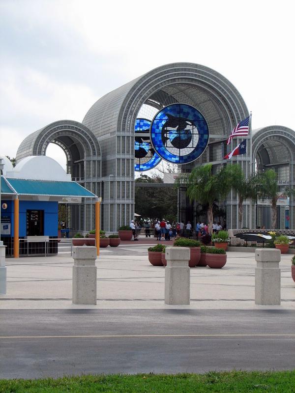 SeaWorld Entrance
