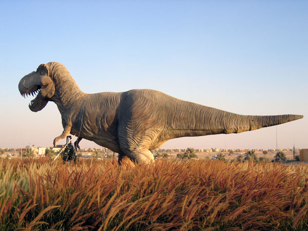 Tyrannasaurus Rex, Dubailand Sales Center