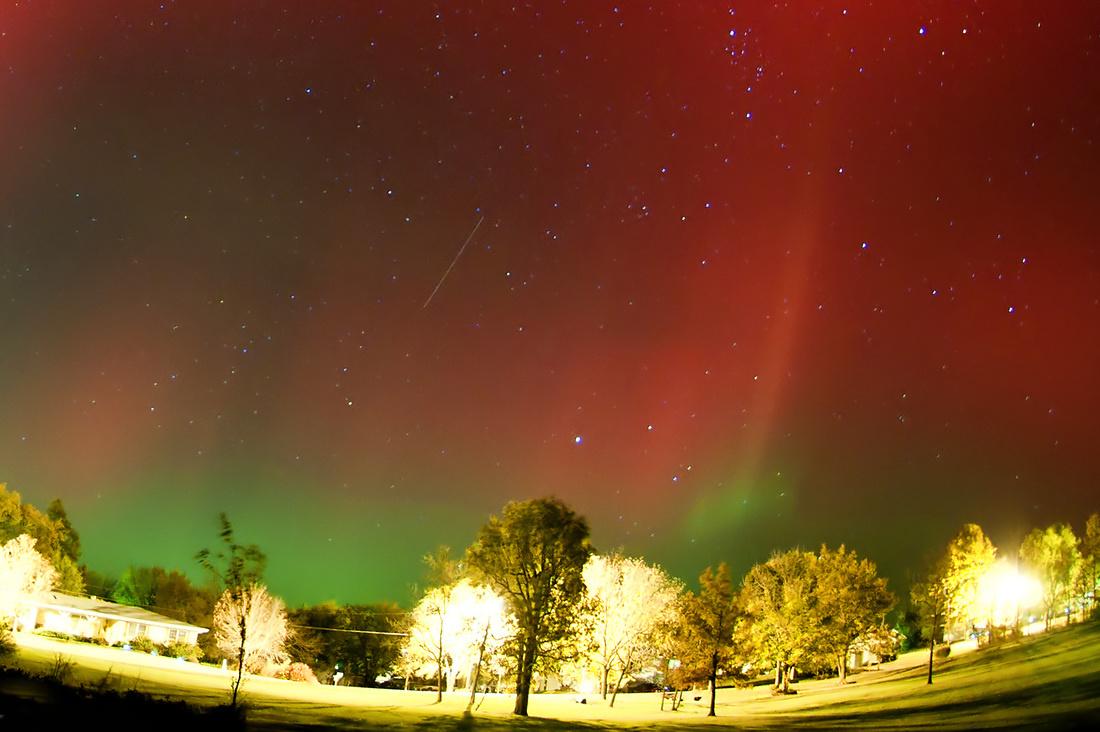 Aurora Borealis Closeup