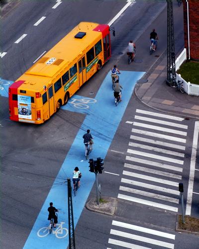 Bus & Bikes, Copenhagen, Denmark