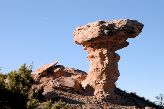 Camel Rock At Tesuque,NM