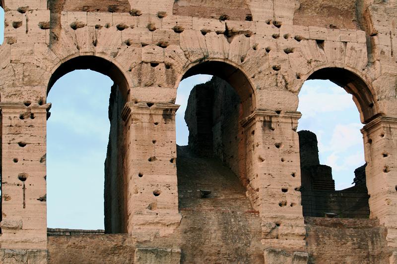 Various views of ye olde Colosseum
