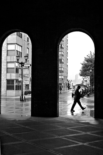 A Rainy Day Stroll