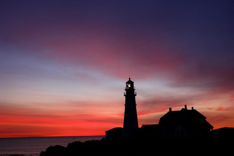 DSC00428.jpg :))))))) pre dawn magic at portland head light