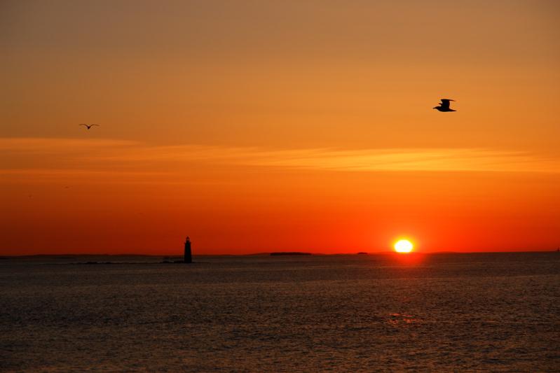 DSC03222.jpg Ram Lighthouse at Dawn, portland maine