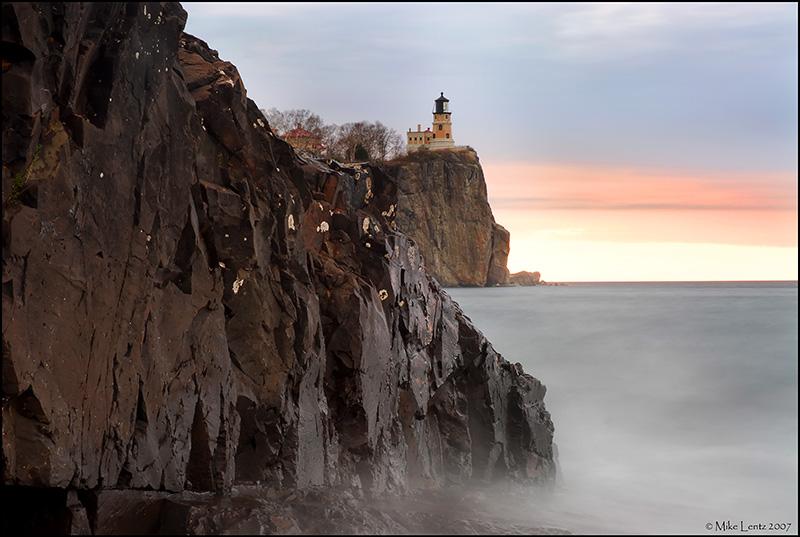 Misty Mornings at Split Rock Lighthouse