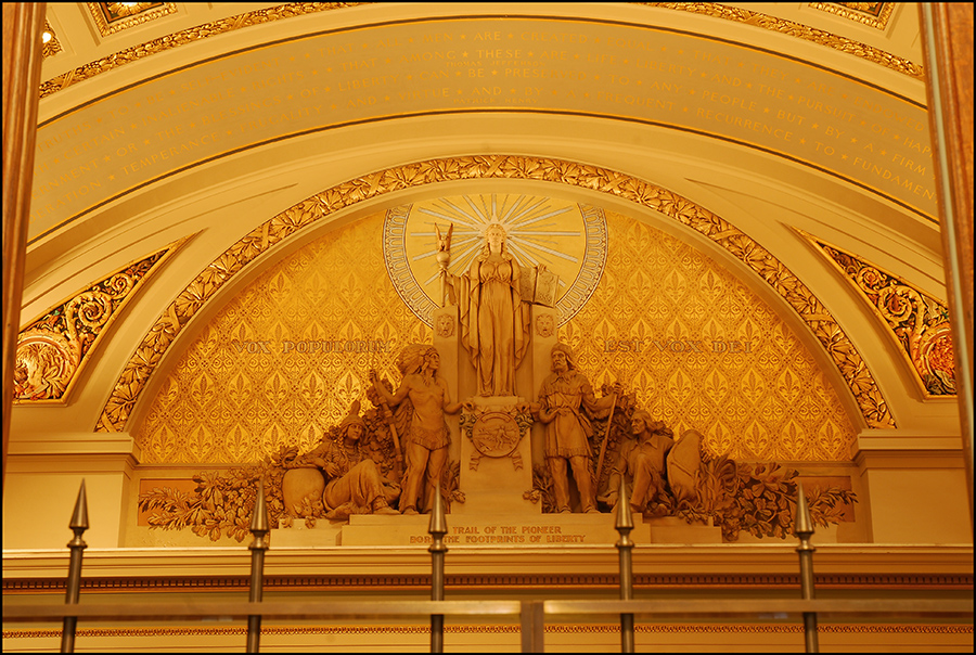 State capital courtroom