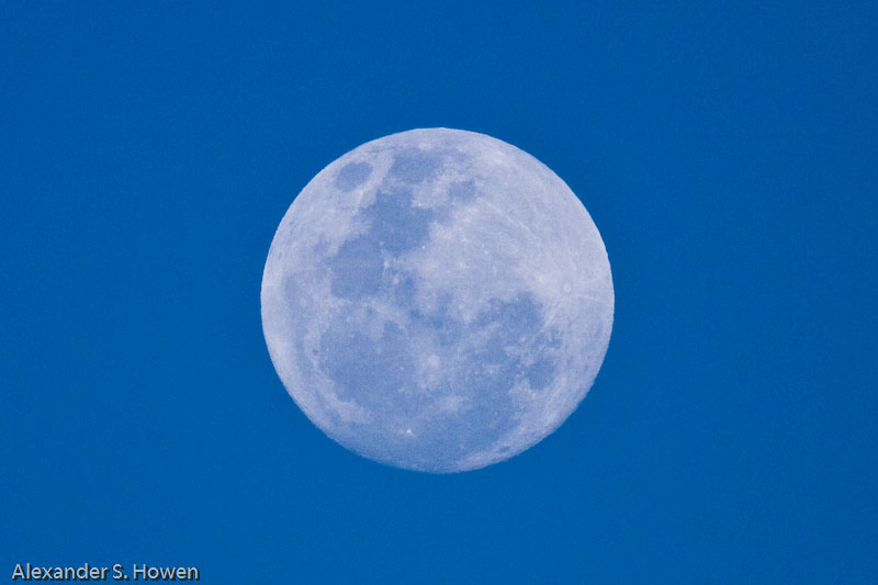 Moon over Theodore
