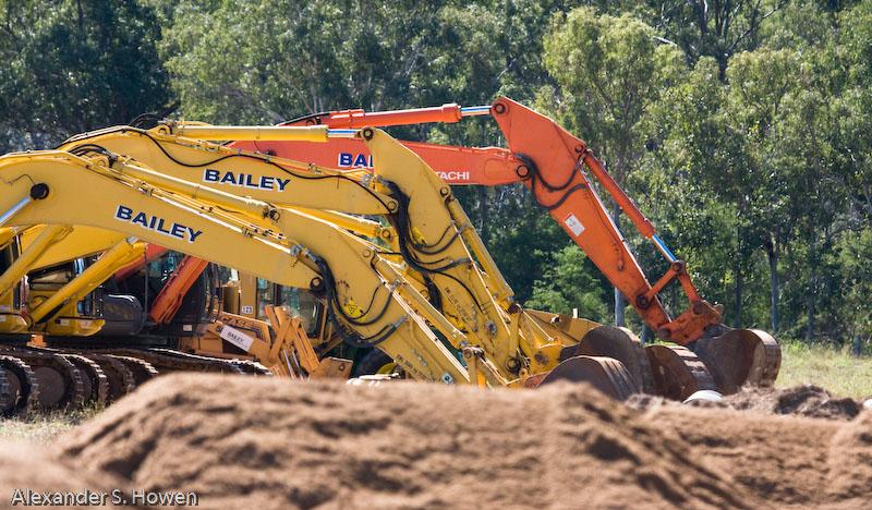 Digging frenzy