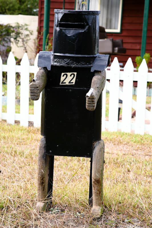 Ned Kelly letterbox