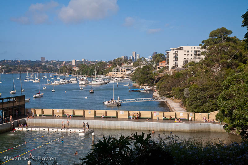 Dawn Fraser Pool and harbour