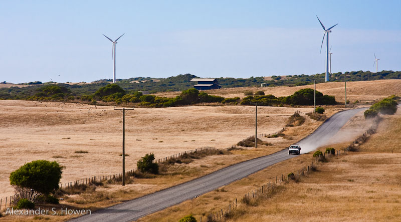 King Island wind farm