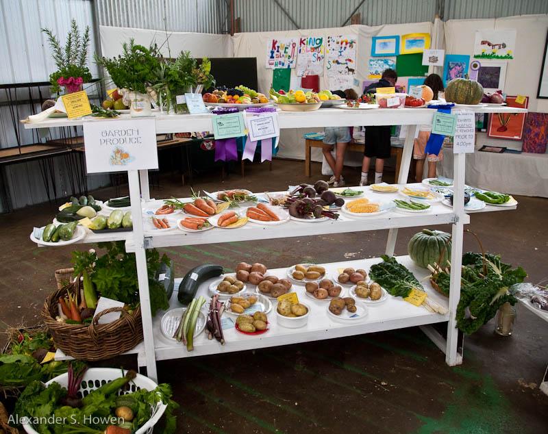 Prize winning produce