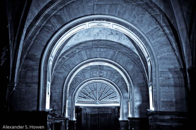 Interior of Leglise Notre Dame de Pitie et Saint Elizabeth
