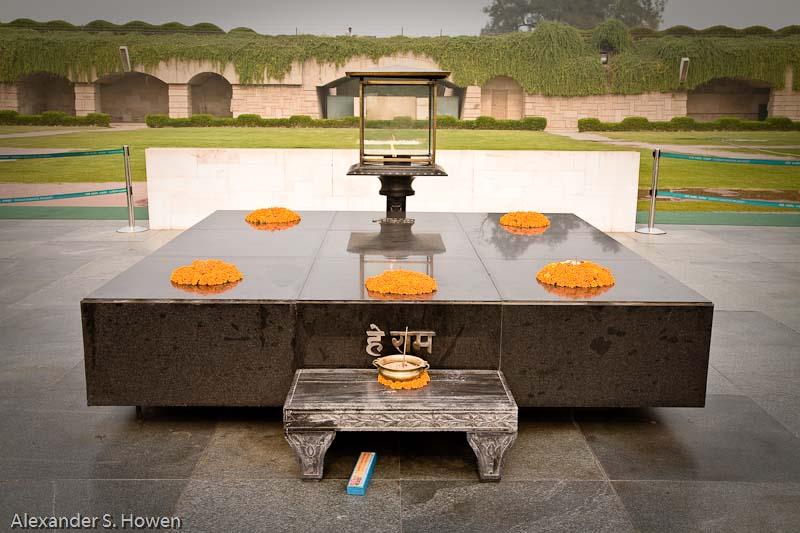 Mahatma Ghandis tomb