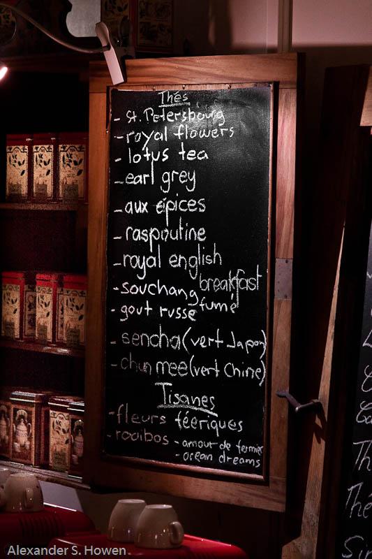 The temptation of tea