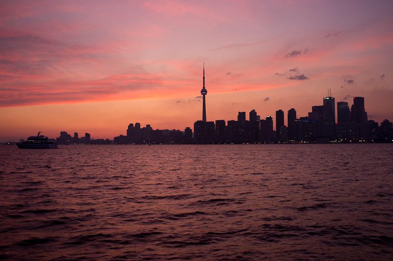 Day 230 <br/>Toronto Sunset
