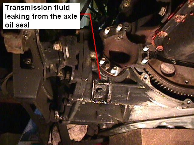 transmisson fluid leak