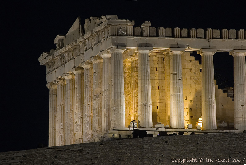 28811 - Parthenon after dark