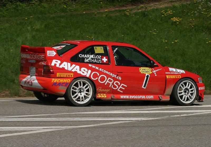 ALTHAUS Nicolas CHARPILLOZ Jean-Paul Ford Escort WRC