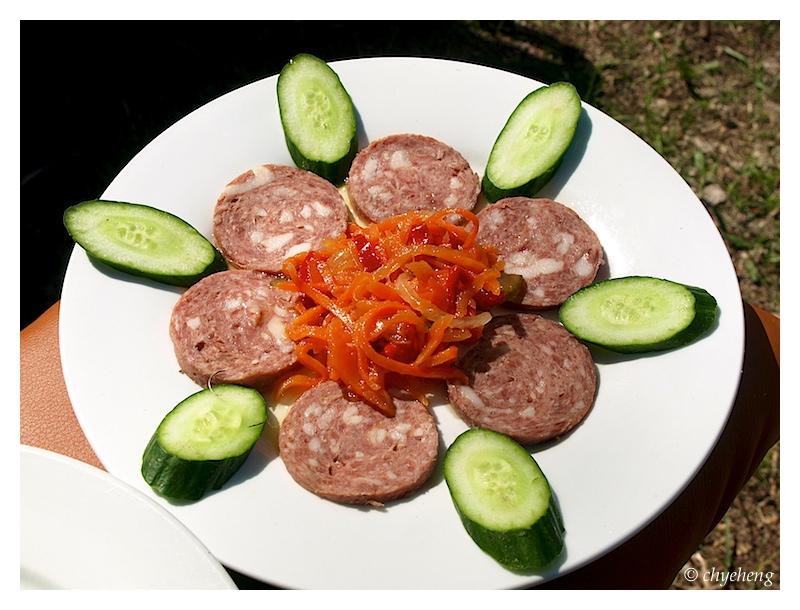 Modern day sausage