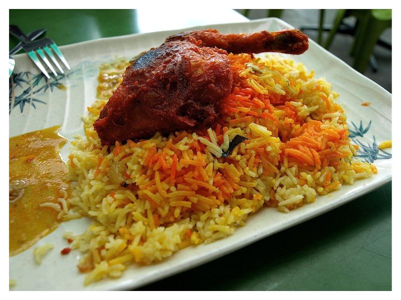 Chicken Biryani... easy food shots with the 14-42mm