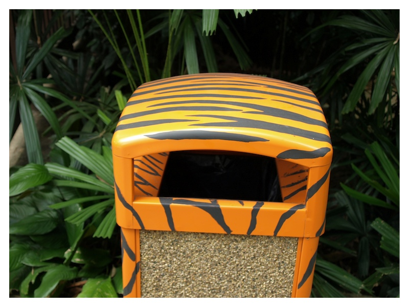Cute Tiger dustbin