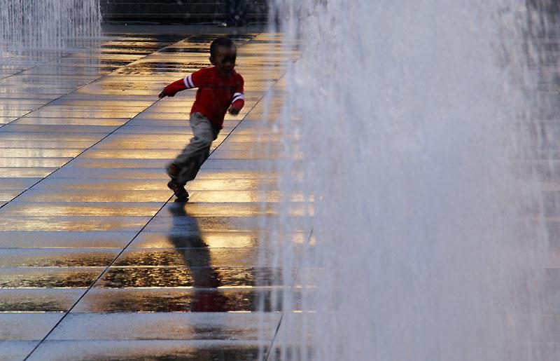 Running the Fountain