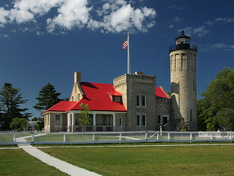 Old Mackinaw Point Lighthouse - Michigan