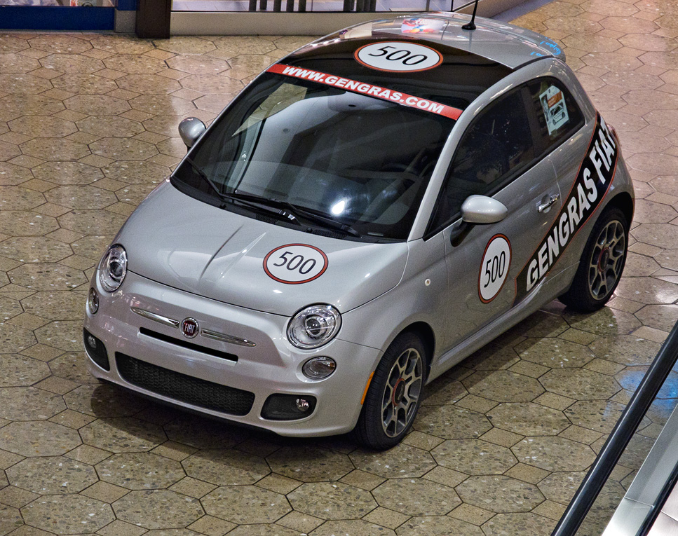 Fiat returns to the USA