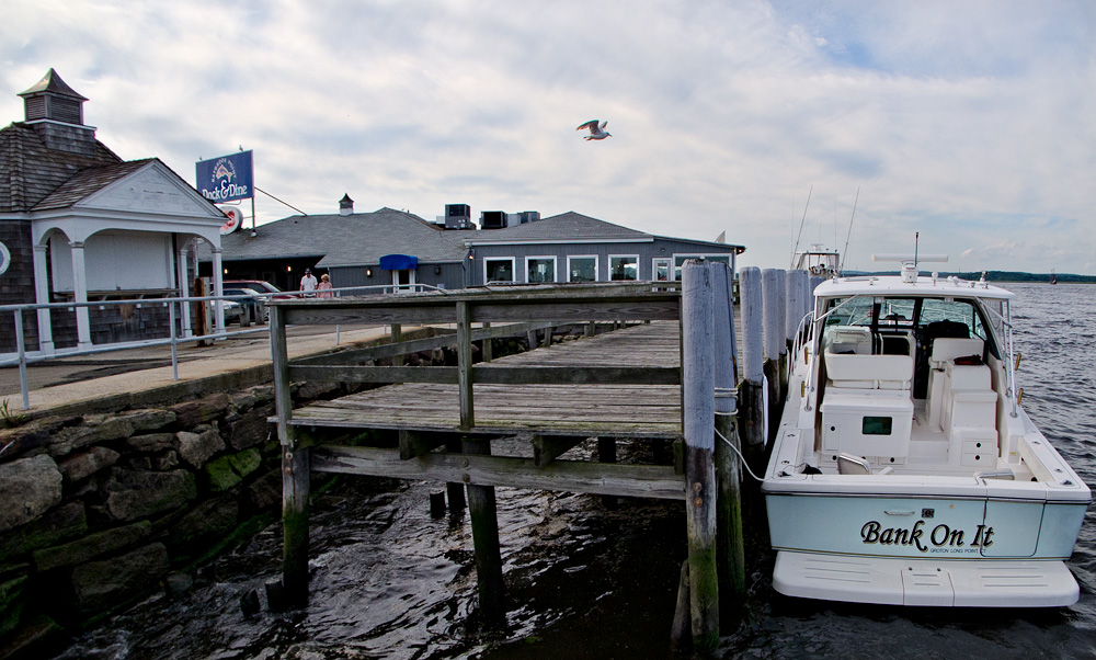 Docking and dining at the Dock & Dine