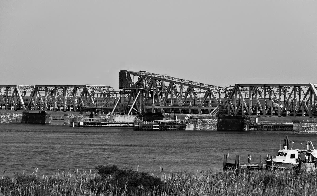 #11 Old Saybrook - Old Lyme Railroad Bridge & Acela Express
