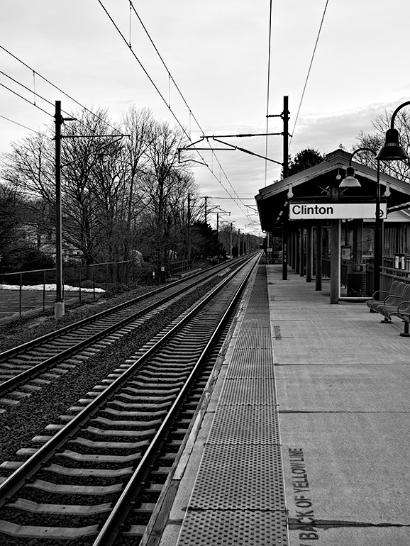 2013 January Challenge B&W #17 - Clinton Railroad Station