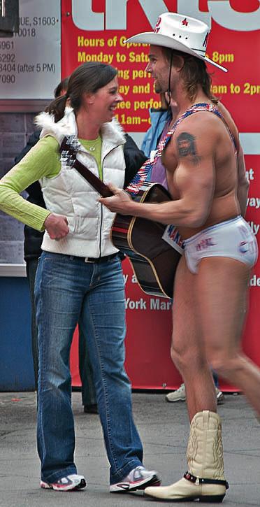 Naked Cowboy #2