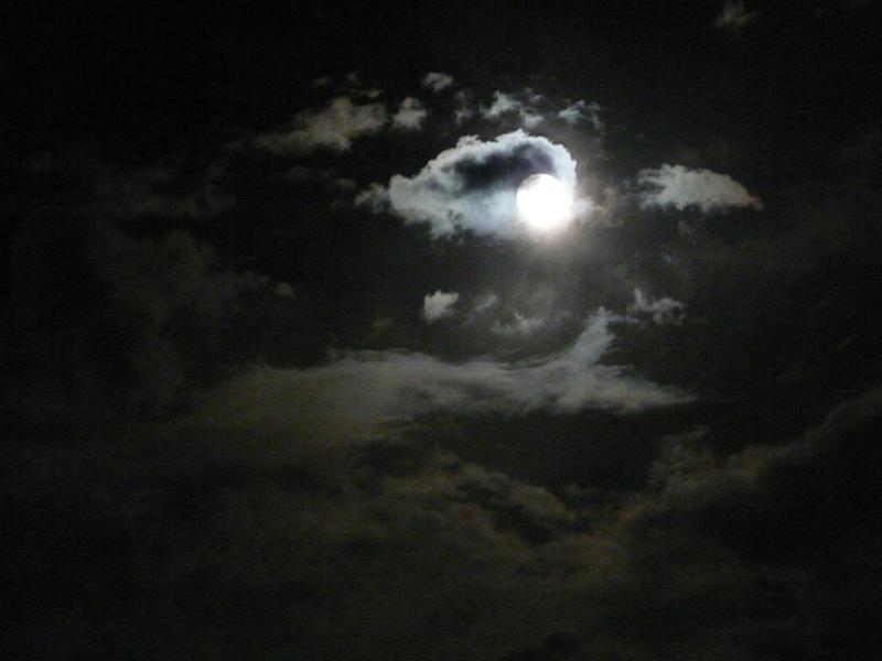 Par un soir de pleine lune....