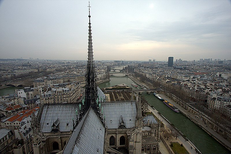 Paris_Notredame seine view