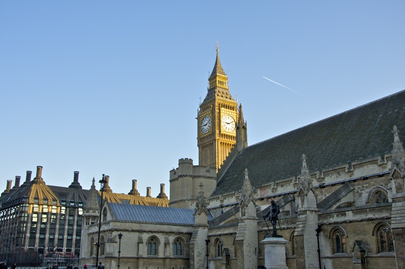 Big Ben with Parliment