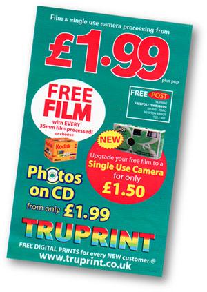 Guexposing Cheap Film
