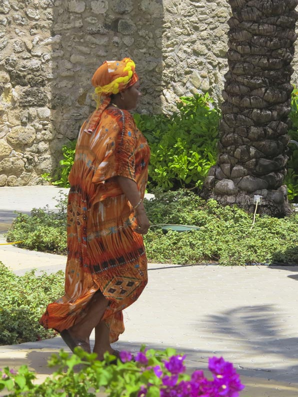 Traditional Curacao dress