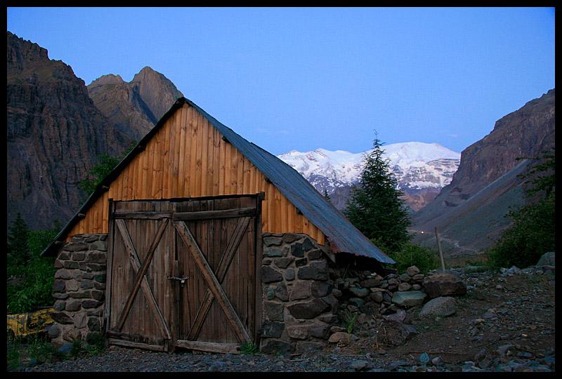 View From the Refugio Lo Valdes ( El Refugio del Club Alemán)
