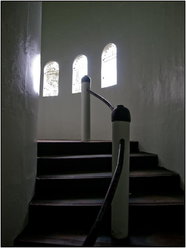 Inside Yokahu Tower