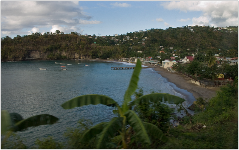 Another View of  Anse La Raye, St. Lucia