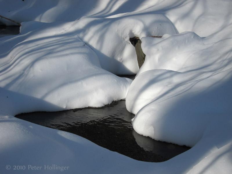 Stream Under Snow