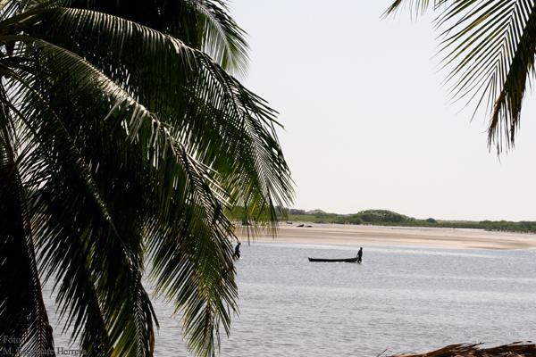 Vista Desde Ocos a la Playa de Tilapa