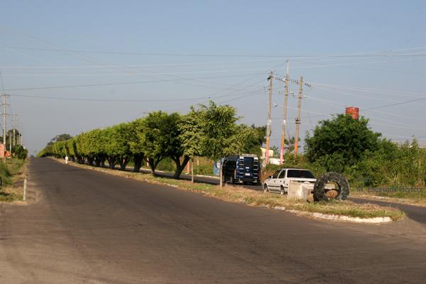 Calzada de Ingreso desde Pajapita o Mexico
