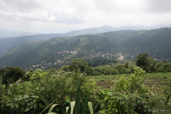 Panoramica de la Aldea Jumaytepeque